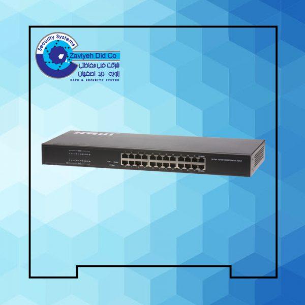 سوئیچ 24 پورت اترنت گیگ HRUI مدل HR-SWG00240D
