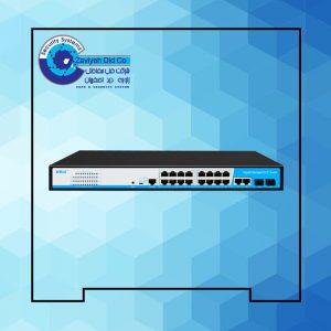 سوئیچ مدیریتی 16 پورتHRUI مدل HR-AFGM-1622S-300